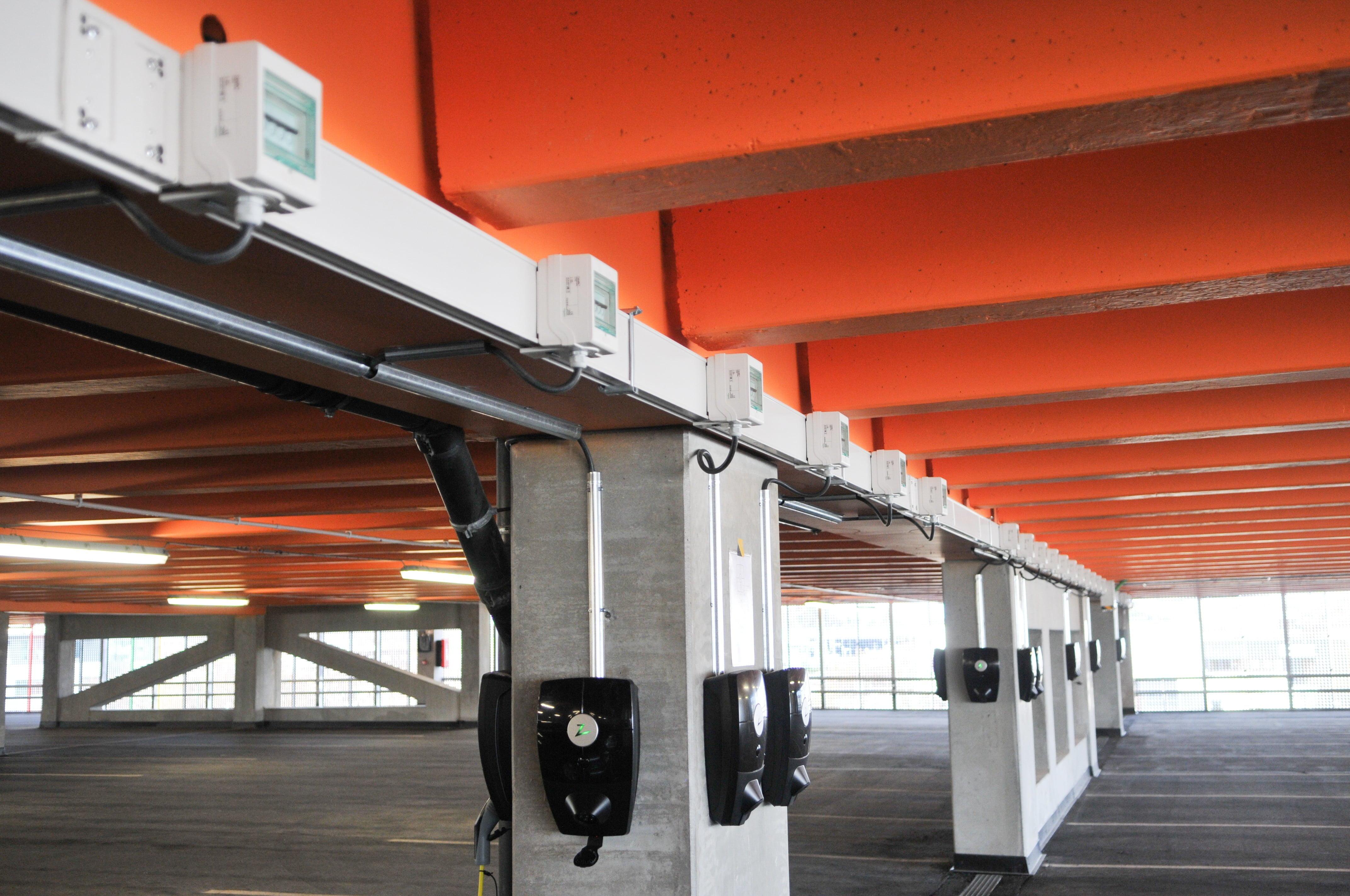 ZapCharger Pro på Forus parkering